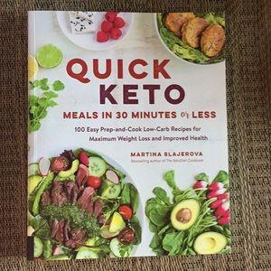 Quick Keto cook book 100 recipes